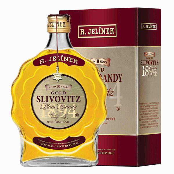 Jelinek Kosher Slivovitz Gold 10YO 0.7l
